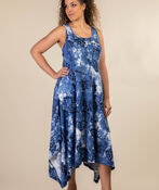 Beach Comber Sun Dress, Navy, original image number 0