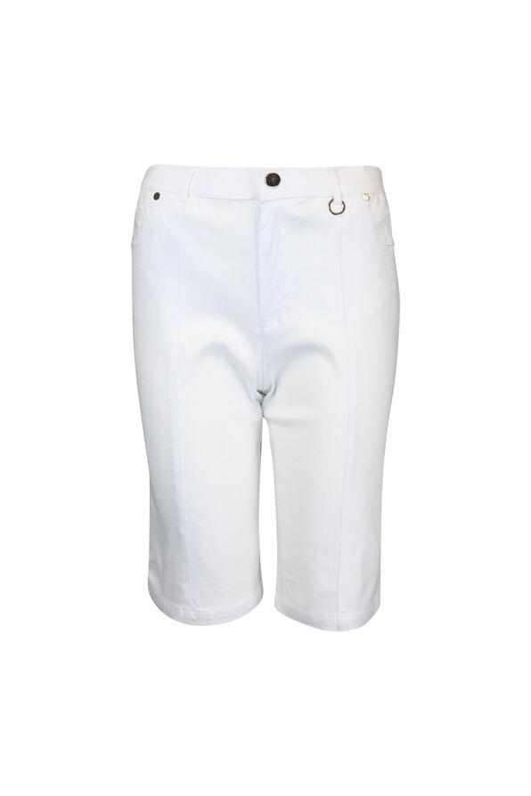 Five Pocket Cotton Stretch Bermuda Short, , original image number 2