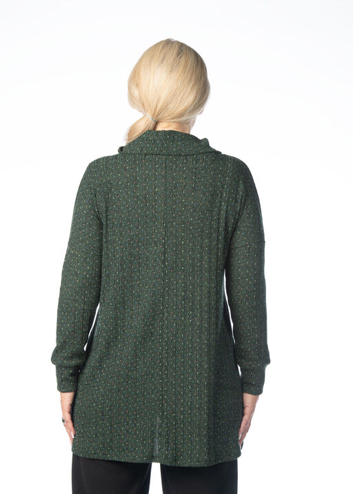 Night-And-Day Overlay Top, Green, original