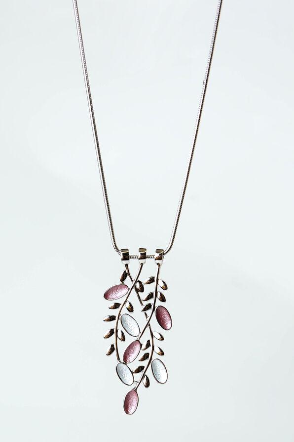On the Vine Necklace, Silver, original image number 0