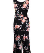 Floral Jumpsuit , Black, original image number 3