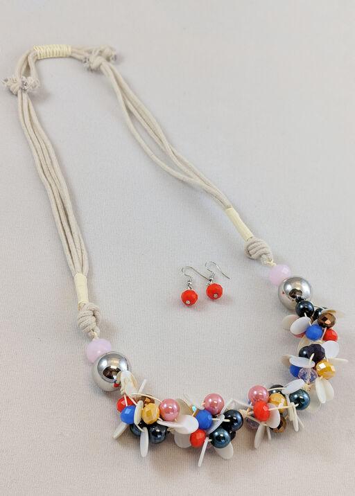 Dana Necklace and Earring Set, , original