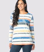 Multi-Colored Tiered Top, Multi, original image number 1