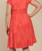 Adeline Shift Dress, Coral, original image number 1