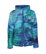 In the City Reversible Jacket with Hidden Hood, Blue, original image number 0
