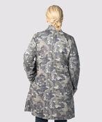 Camouflage Suede Cardi-Coat, Grey, original image number 2