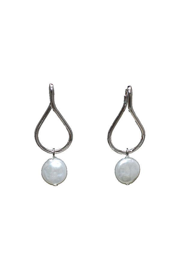 Dancing Pearl Earrings, Silver, original image number 0