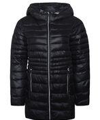 Long Slim Fit Ultralight Puffer Coat, , original image number 1