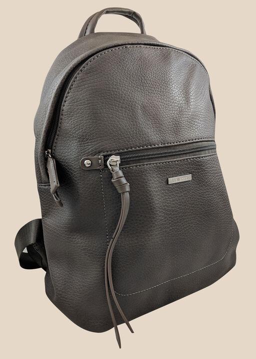 Ladies Backpack, Grey, original