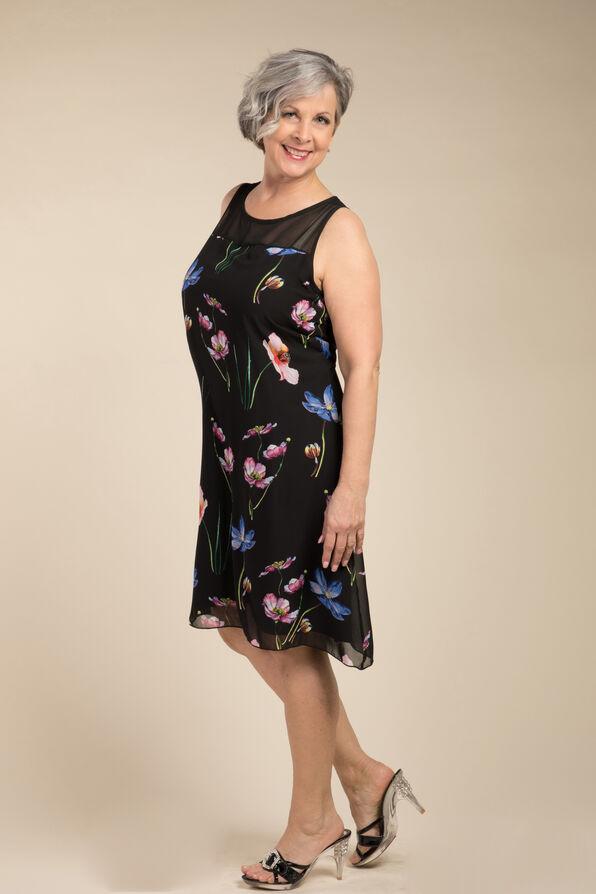 Chloe Dress, Navy, original image number 2