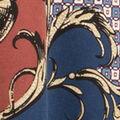 Victorian Print Dress, Pink, swatch