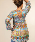 Lyrica Blouse, Turquoise, original image number 1