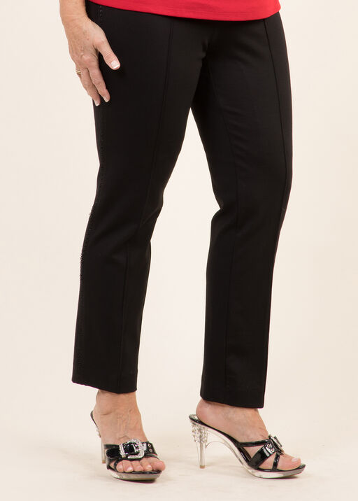 Lace Trim Trouser, , original