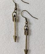 Arrow Handmade Earrings, , original image number 1