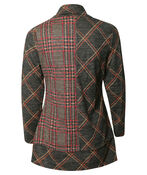 Plaid Tunic with Cowl Neck , Multi, original image number 1