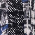 Print Knit Tunic, Cobalt, swatch