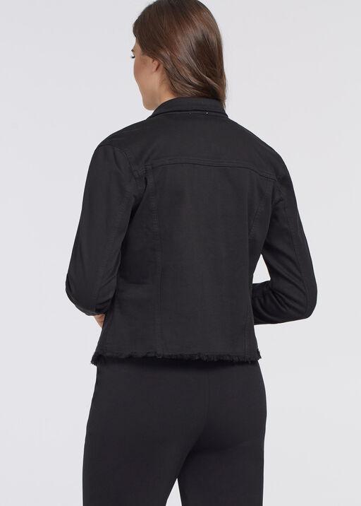 Ultra-Raw Denim Jean Jacket , Black, original