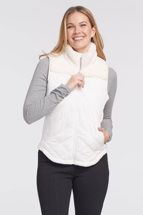 Ultimate Quilt Sherpa Vest, , original image number 0