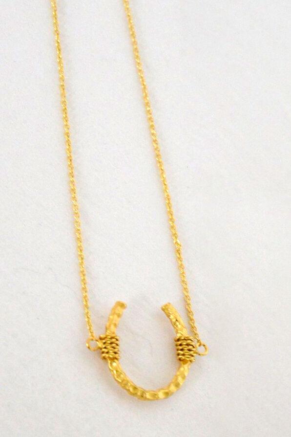 Horseshoe Necklace , , original image number 0
