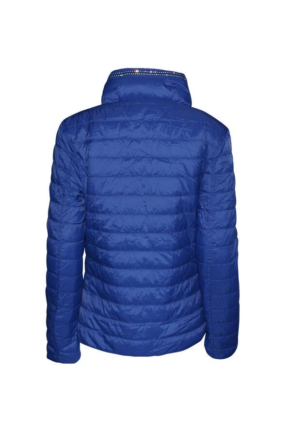 In the City Reversible Jacket with Hidden Hood, Blue, original image number 3