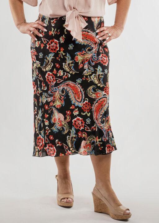 Paisley Chiffon Skirt, , original