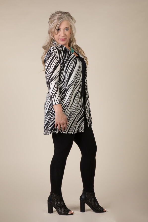 Wavelengths Cardigan, Black, original image number 1