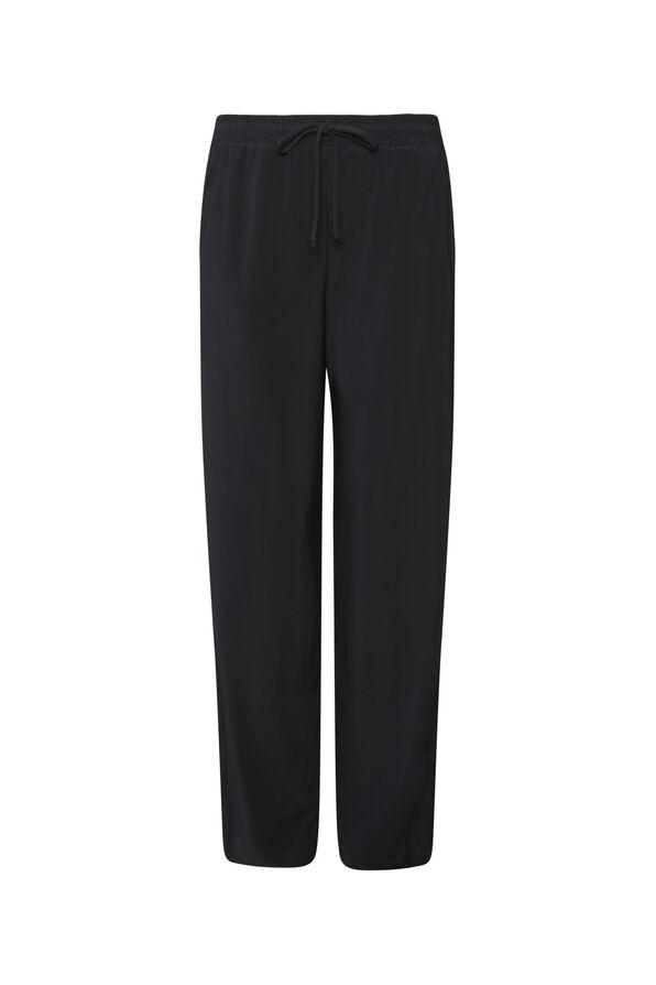 Tasha Wide Leg Pant, Black, original image number 0
