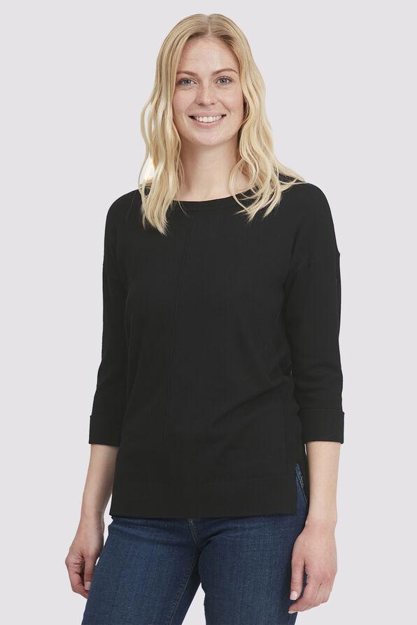 Jane's Basic Top, Black, original image number 2