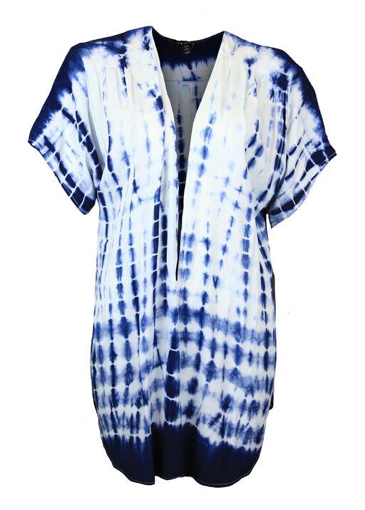 Tie Dye Kimono, Ink, original
