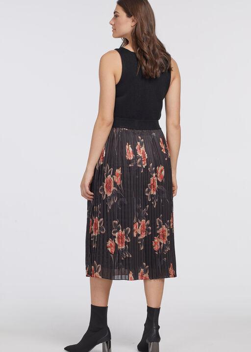 Pleat-Is-In Skirt, Black, original