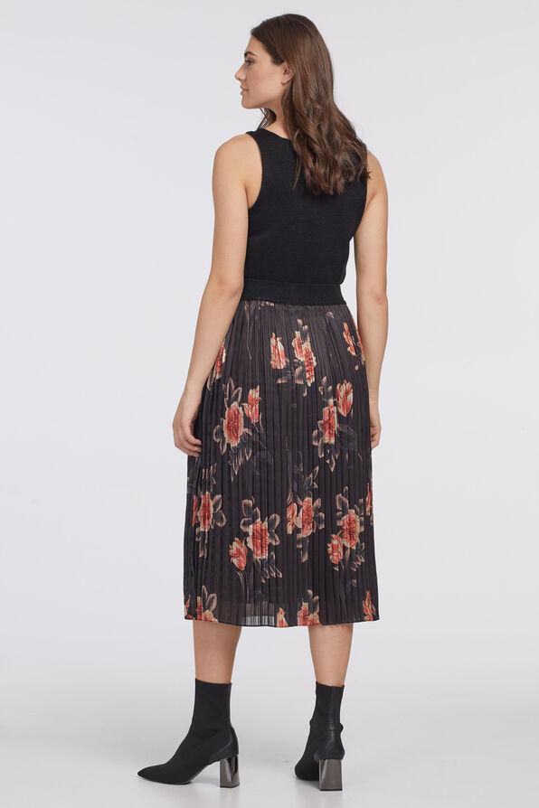 Pleat-Is-In Skirt, Black, original image number 1