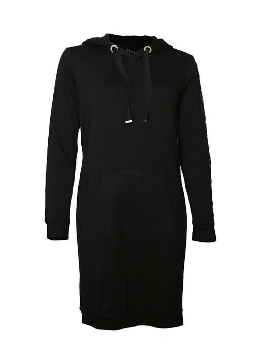 Studded-Sleeve Shirt Dress, , original