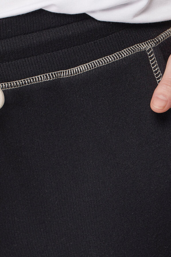 Relaxed Ankle Joggers, Black, original image number 1