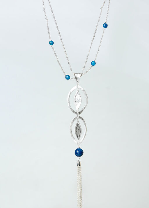 Azure Necklace, Silver, original