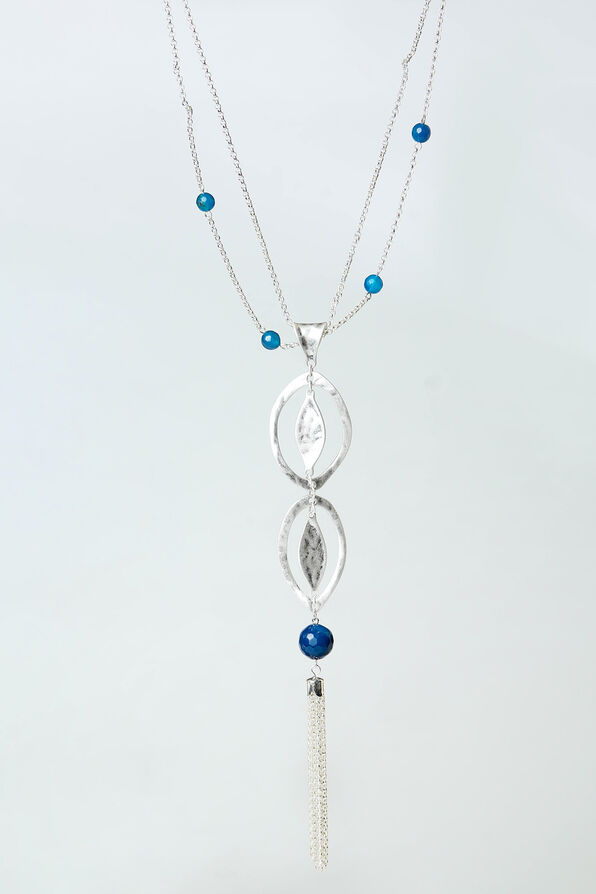 Azure Necklace, Silver, original image number 0