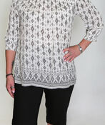 Amara Off the Shoulder Blouse, White, original image number 0