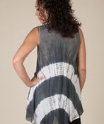 Sun Kissed Sleeveless Tunic, Grey, original image number 1