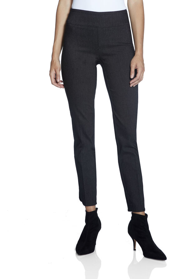 UP Petal Hem Ankle Pant, Black, original image number 1