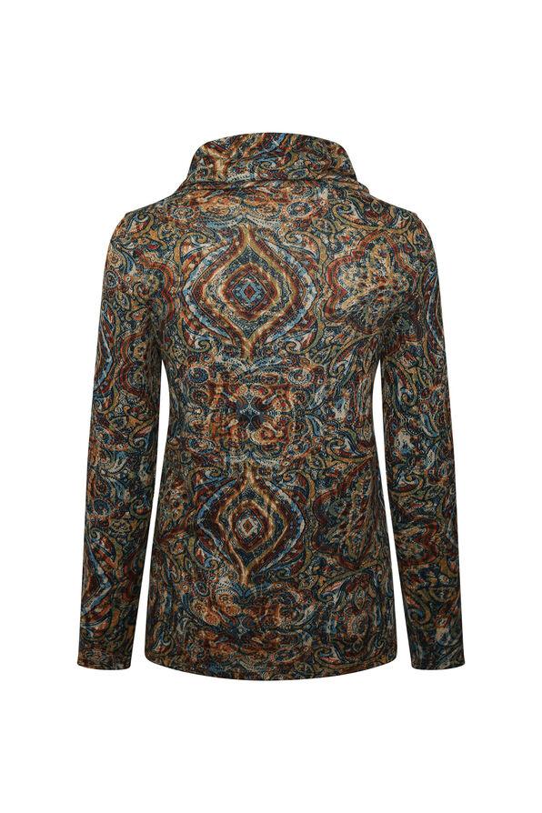 Mina Cowl Neck Sweater, Multi, original image number 1