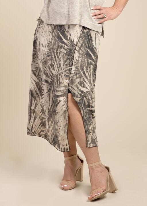 Wanda Faux Wrap Skirt, , original