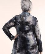 Cowl Neck Tunic, Blue, original image number 1