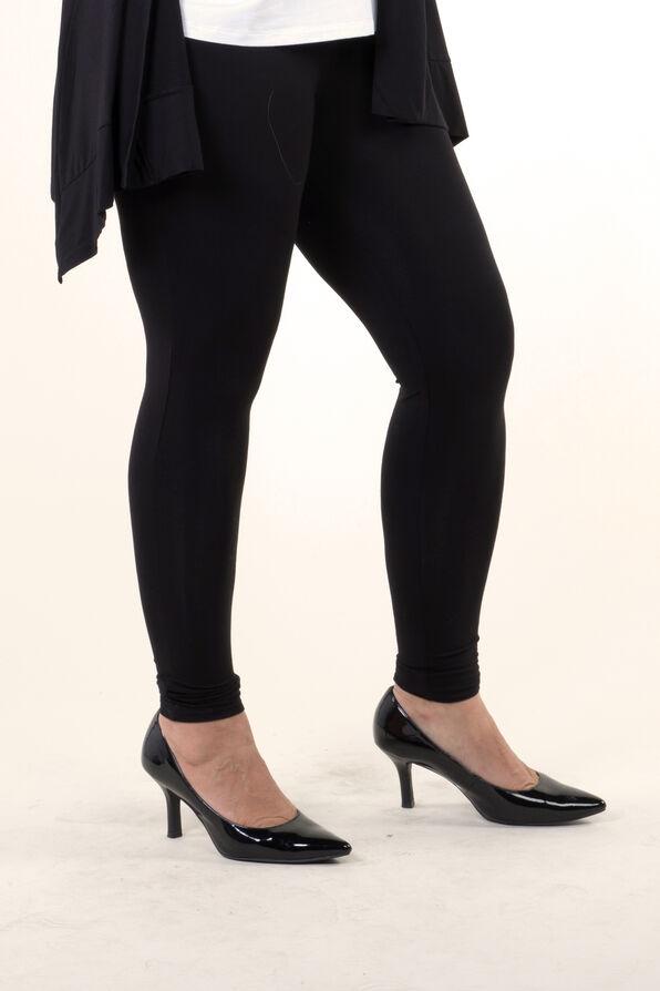 Bamboo Legging, Black, original image number 1