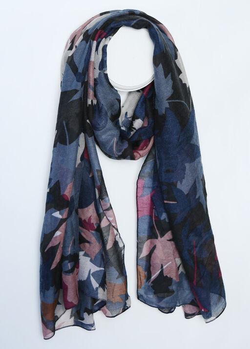 Falling Leaves Fashion Scarf, , original