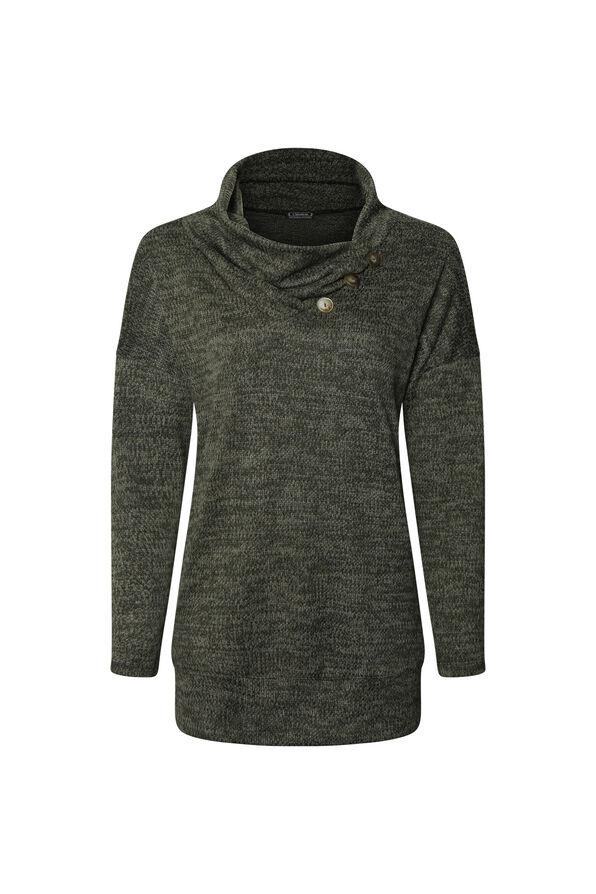 Alyssa Drape Neck Sweater, , original image number 0