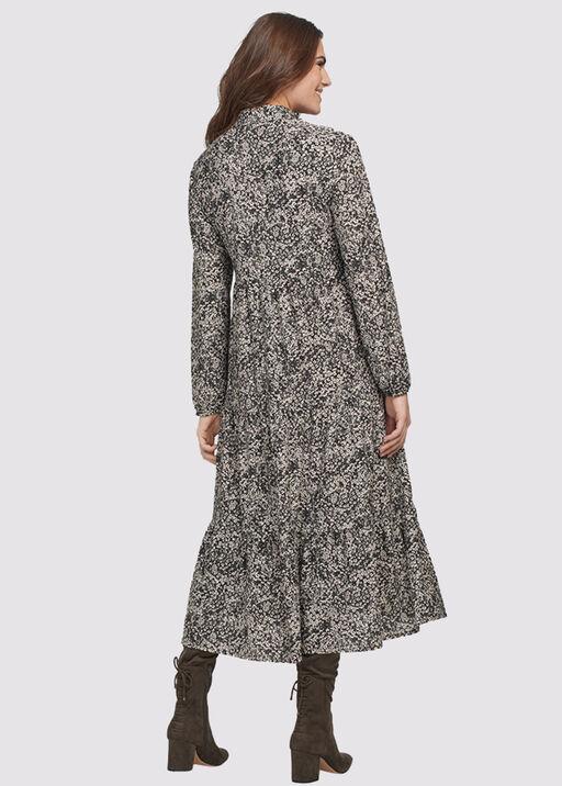 Janina Tiered Dress, Black, original