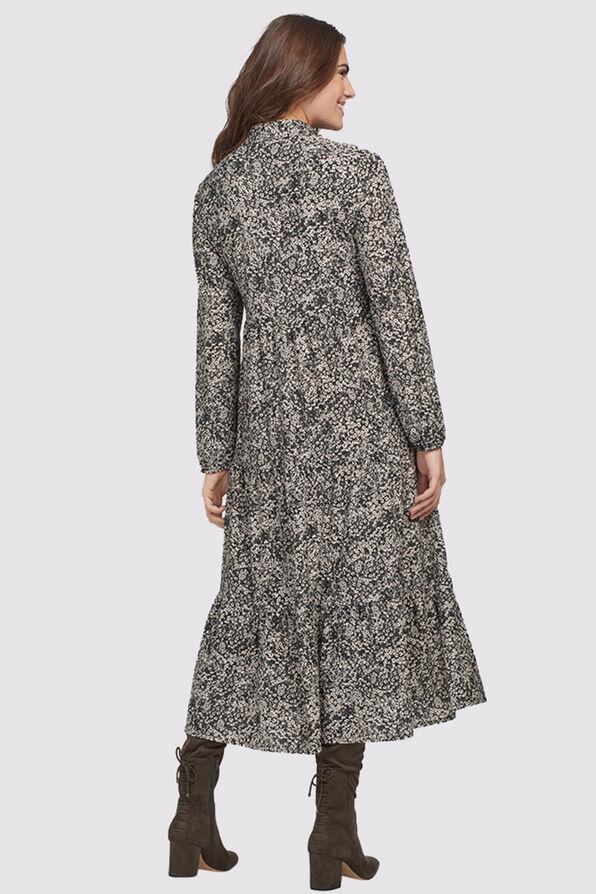 Janina Tiered Dress, Black, original image number 1