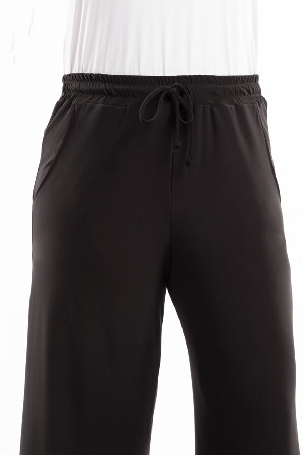 Draw String Trouser, Black, original image number 2