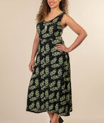 Isla Maxi Dress, Black, original image number 1