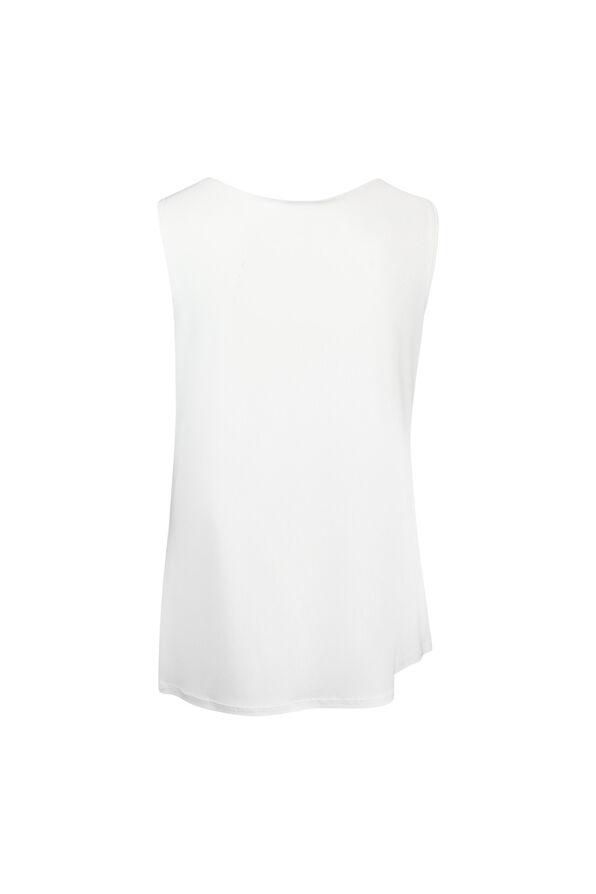 Cami in Stretch Knit, Ivory, original image number 1