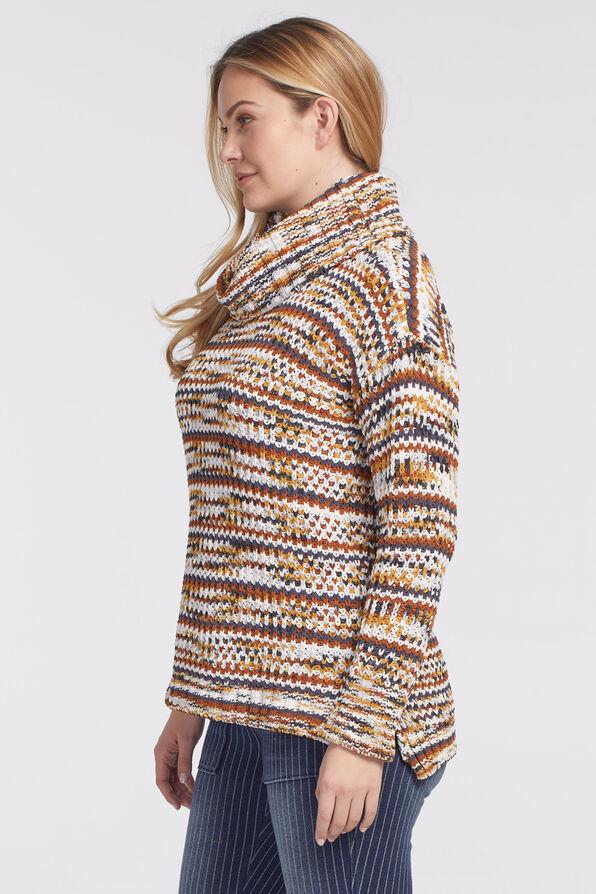 Dream Cowl Sweater, Rust, original image number 1